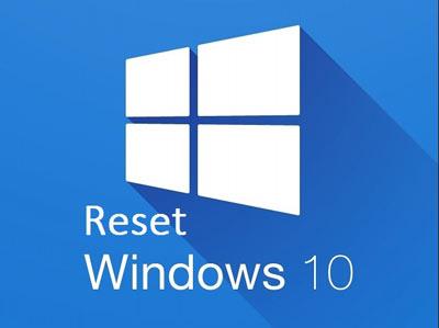 Reset windows 10 không mất dữ liệu
