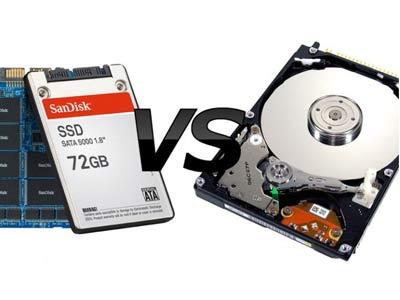 khác biệt giữa ổ cứng HDD và ổ SSD