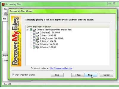 phần mềm khôi phục dữ liệu Recover my Files