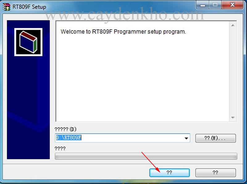 hướng dẫn sử dụng máy RT809F